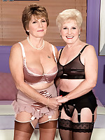 60 Plus MILFs - It Finally Happened, And We Have The Pictures! - Bea Cummins and Jewel (70 Photos)