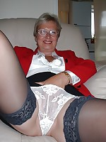 Mature Amateurs in Stockings